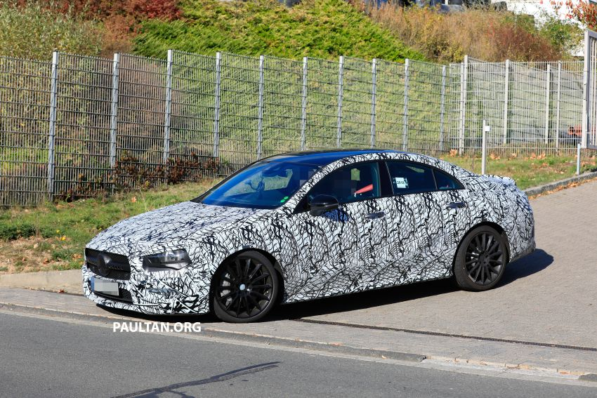 C118 Mercedes-AMG CLA35, CLA45 spotted testing Image #904850