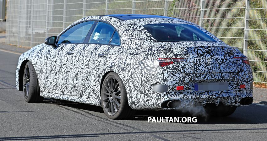 C118 Mercedes-AMG CLA35, CLA45 spotted testing Image #904853