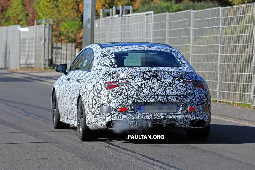 C118 Mercedes-AMG CLA35, CLA45 spotted testing Image #904854