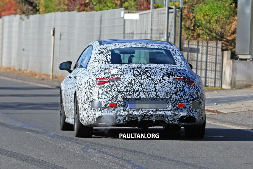 C118 Mercedes-AMG CLA35, CLA45 spotted testing Image #904855