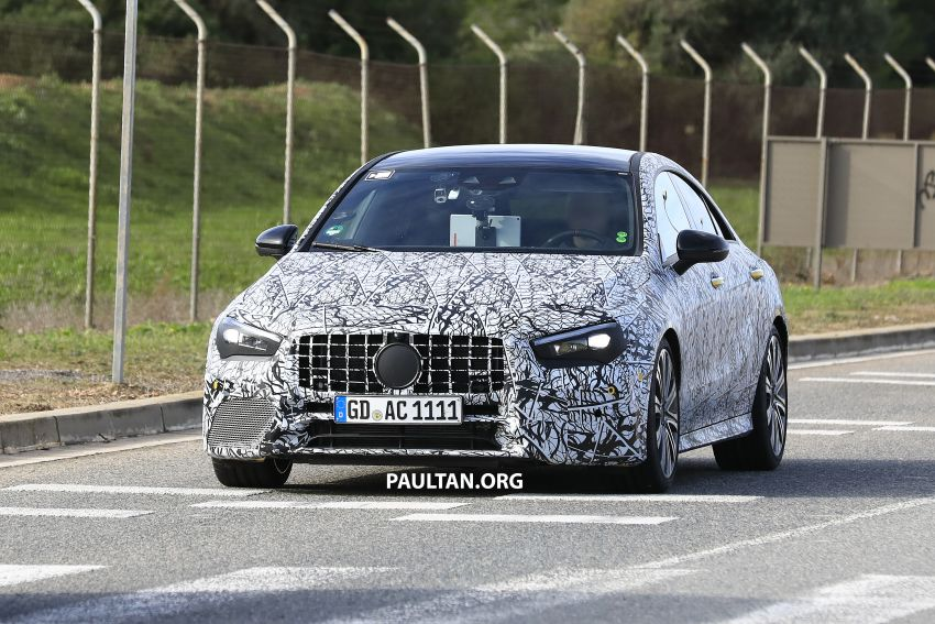 C118 Mercedes-AMG CLA35, CLA45 spotted testing Image #904856