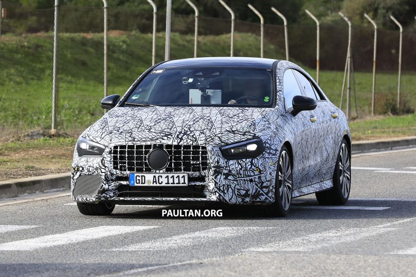 C118 Mercedes-AMG CLA35, CLA45 spotted testing Image #904857