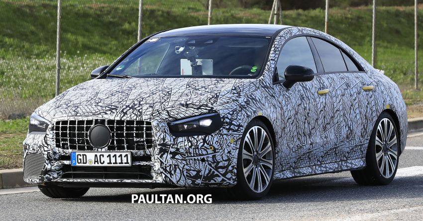 C118 Mercedes-AMG CLA35, CLA45 spotted testing Image #904858