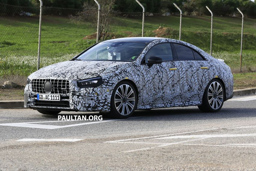C118 Mercedes-AMG CLA35, CLA45 spotted testing Image #904859