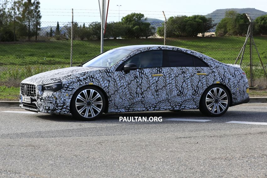 C118 Mercedes-AMG CLA35, CLA45 spotted testing Image #904861