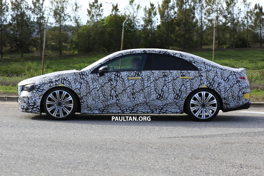 C118 Mercedes-AMG CLA35, CLA45 spotted testing Image #904862