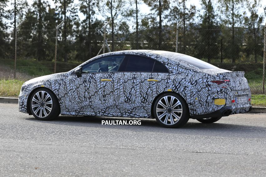 C118 Mercedes-AMG CLA35, CLA45 spotted testing Image #904868
