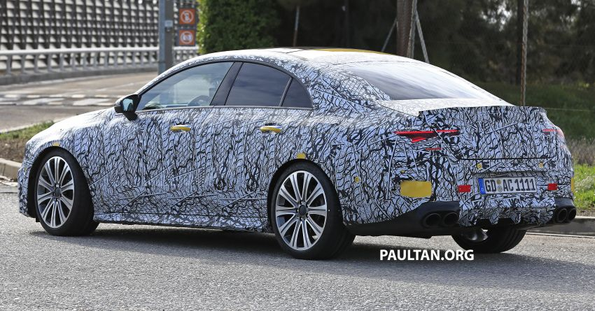 C118 Mercedes-AMG CLA35, CLA45 spotted testing Image #904864