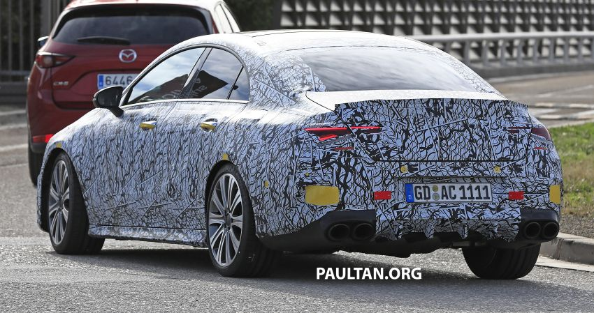 C118 Mercedes-AMG CLA35, CLA45 spotted testing Image #904865