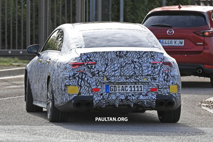 C118 Mercedes-AMG CLA35, CLA45 spotted testing Image #904867
