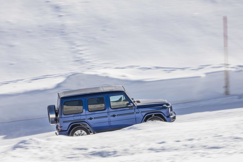 Mercedes-Benz G350d – entry-level G-Wagen debuts Image #904451