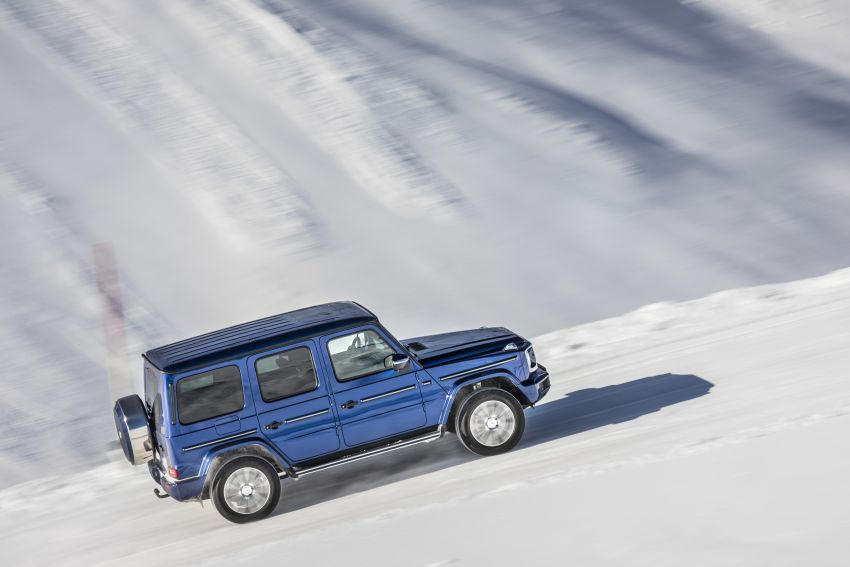 Mercedes-Benz G350d – entry-level G-Wagen debuts Image #904453