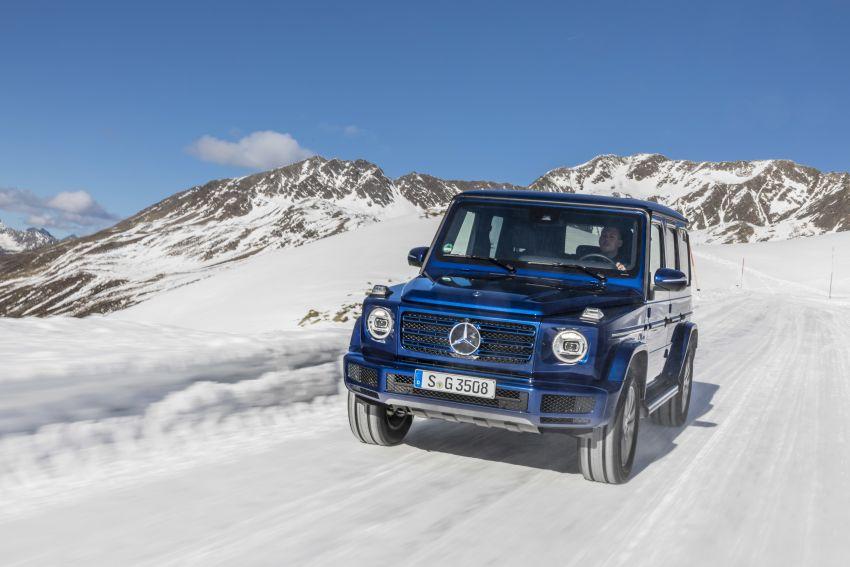 Mercedes-Benz G350d – entry-level G-Wagen debuts Image #904466