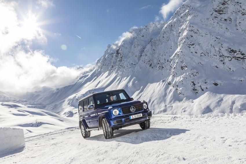 Mercedes-Benz G350d – entry-level G-Wagen debuts Image #904473
