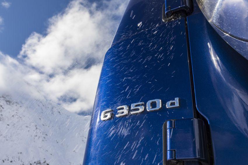 Mercedes-Benz G350d – entry-level G-Wagen debuts Image #904478