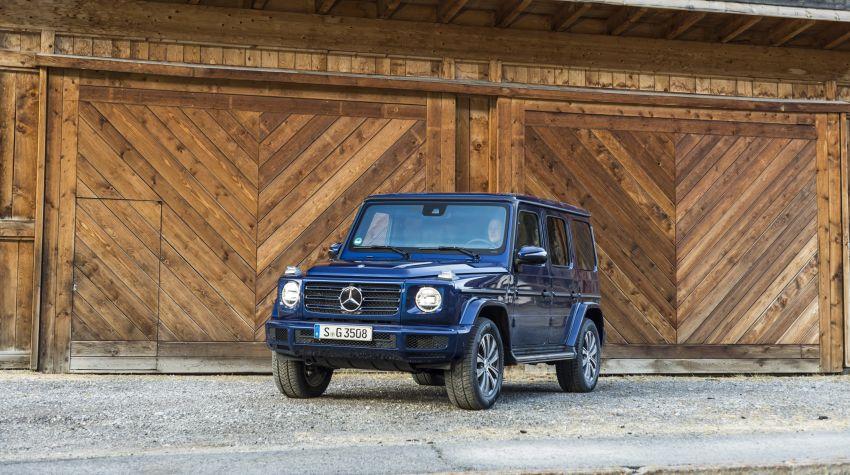 Mercedes-Benz G350d – entry-level G-Wagen debuts Image #904479
