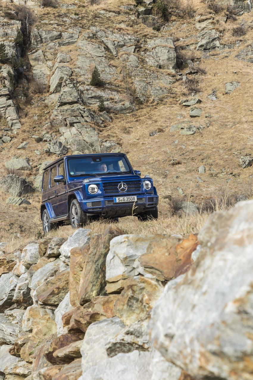 Mercedes-Benz G350d – entry-level G-Wagen debuts Image #904495