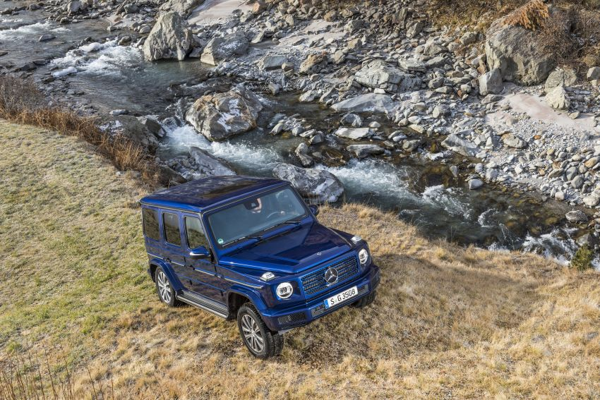 Mercedes-Benz G350d – entry-level G-Wagen debuts Image #904502
