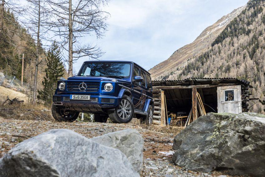 Mercedes-Benz G350d – entry-level G-Wagen debuts Image #904503