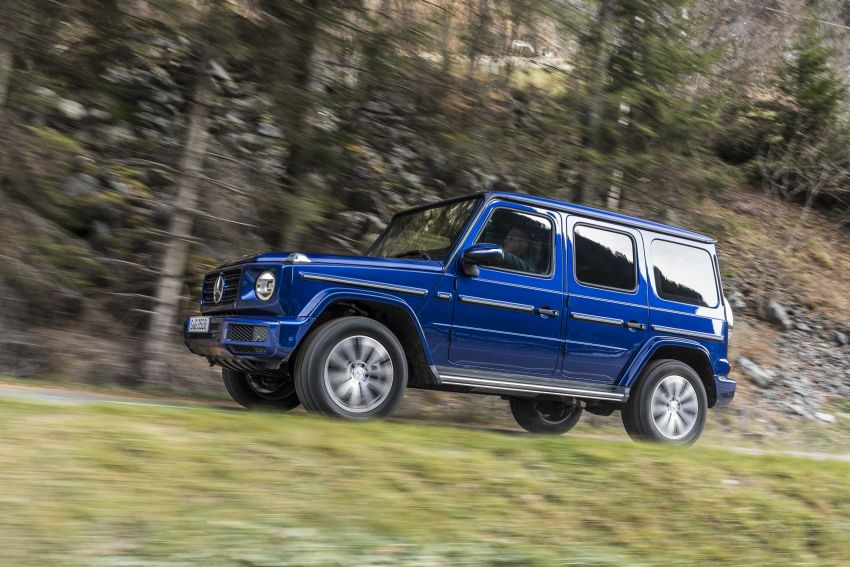 Mercedes-Benz G350d – entry-level G-Wagen debuts Image #904504