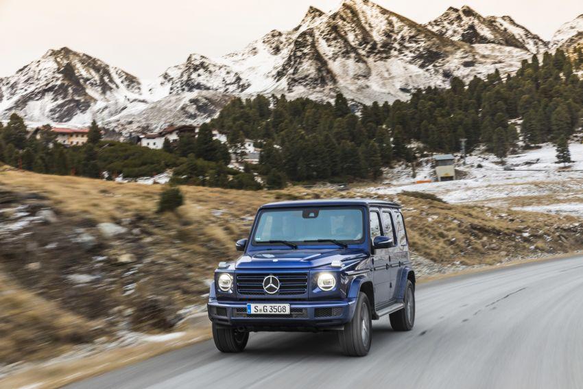 Mercedes-Benz G350d – entry-level G-Wagen debuts Image #904509