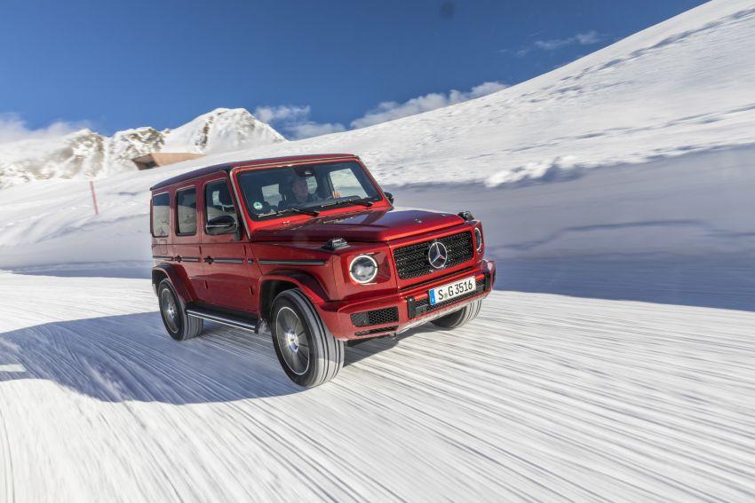 Mercedes-Benz G350d – entry-level G-Wagen debuts Image #904515