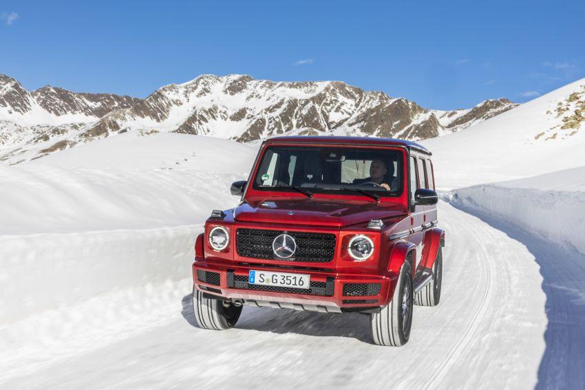 Mercedes-Benz G350d – entry-level G-Wagen debuts Image #904516