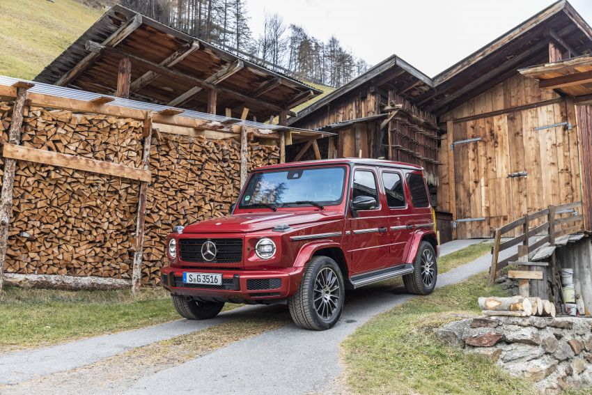 Mercedes-Benz G350d – entry-level G-Wagen debuts Image #904543