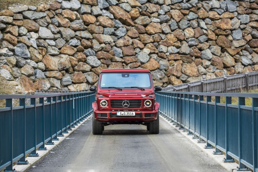Mercedes-Benz G350d – entry-level G-Wagen debuts Image #904544