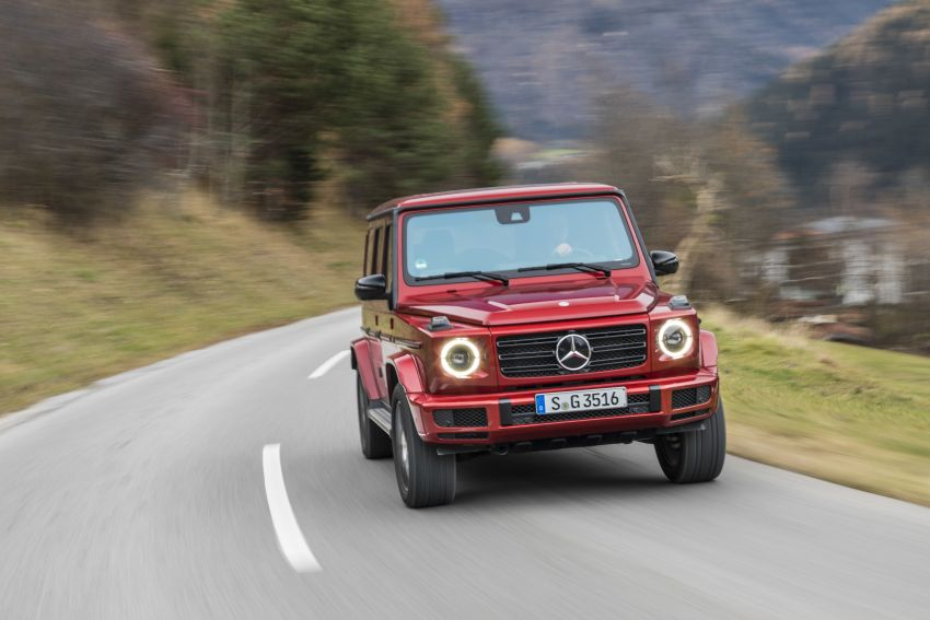 Mercedes-Benz G350d – entry-level G-Wagen debuts Image #904550