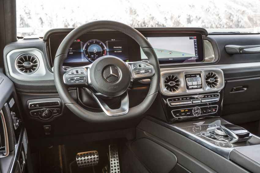 Mercedes-Benz G350d – entry-level G-Wagen debuts Image #904552