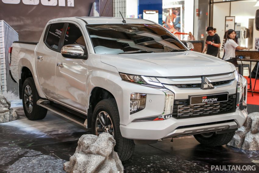 2019 Mitsubishi Triton in Adventure trim – Malaysian-spec interior revealed; Forward Collision Mitigation Image #900094