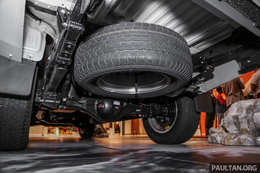 2019 Mitsubishi Triton in Adventure trim – Malaysian-spec interior revealed; Forward Collision Mitigation Image #900117