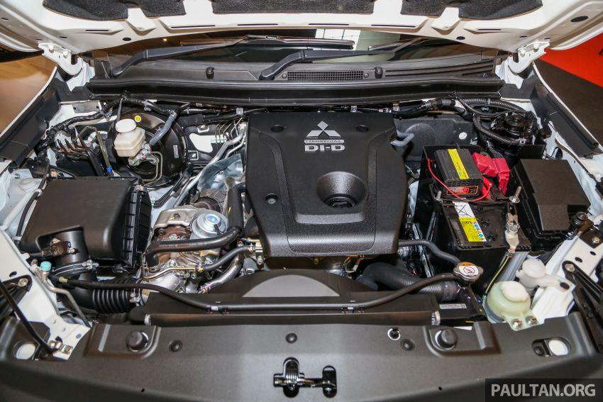 2019 Mitsubishi Triton in Adventure trim – Malaysian-spec interior revealed; Forward Collision Mitigation Image #900118