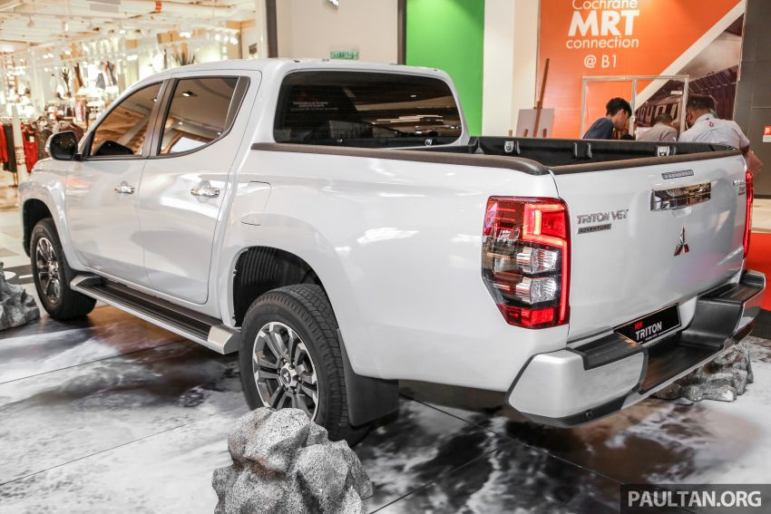 2019 Mitsubishi Triton in Adventure trim – Malaysian-spec interior revealed; Forward Collision Mitigation Image #900097