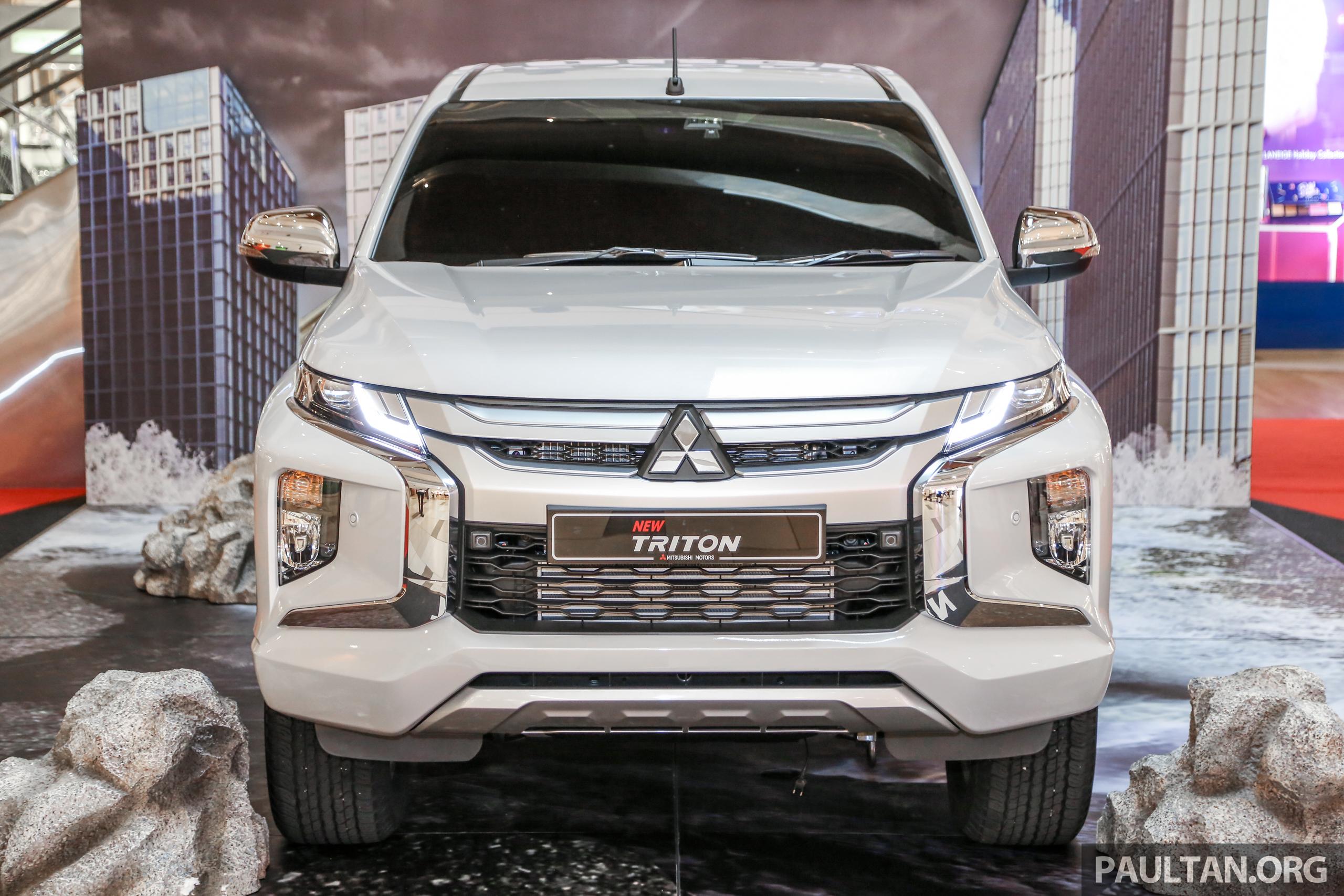 2019 Mitsubishi Triton in Adventure trim – Malaysian-spec interior
