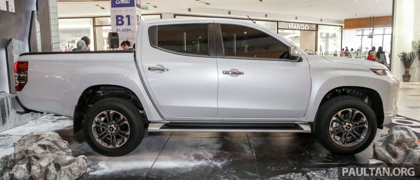 2019 Mitsubishi Triton in Adventure trim – Malaysian-spec interior revealed; Forward Collision Mitigation Image #900099