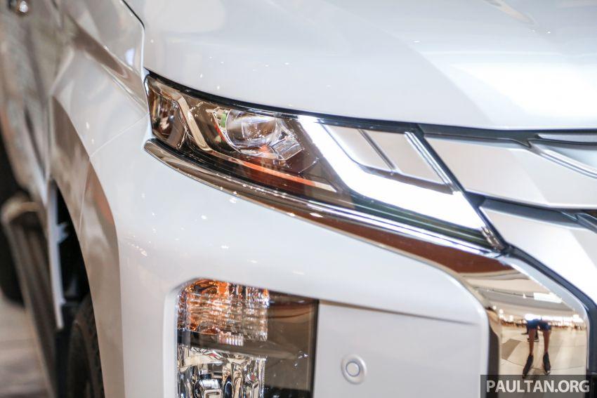 2019 Mitsubishi Triton in Adventure trim – Malaysian-spec interior revealed; Forward Collision Mitigation Image #900101