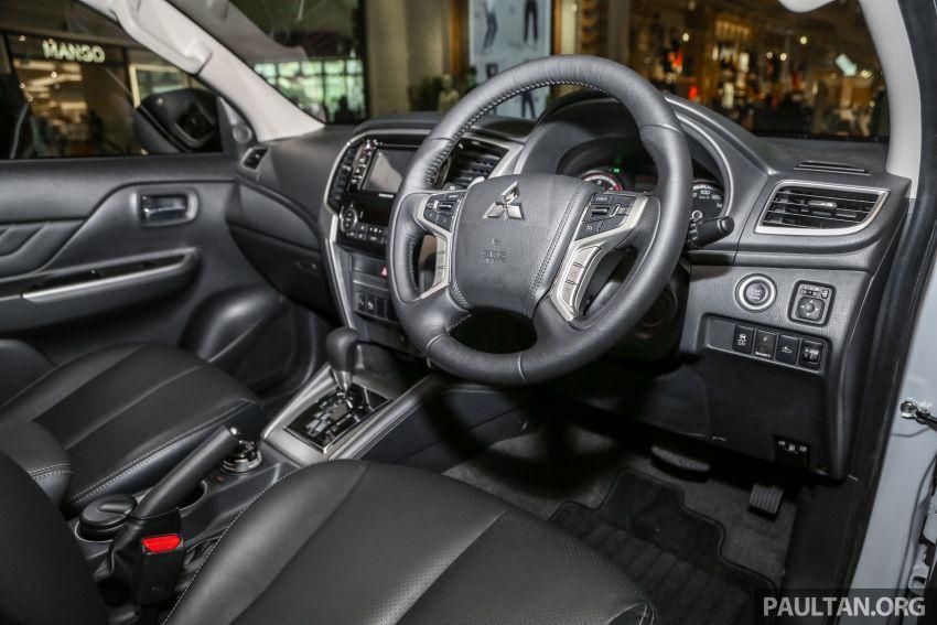 2019 Mitsubishi Triton in Adventure trim – Malaysian-spec interior revealed; Forward Collision Mitigation Image #900120