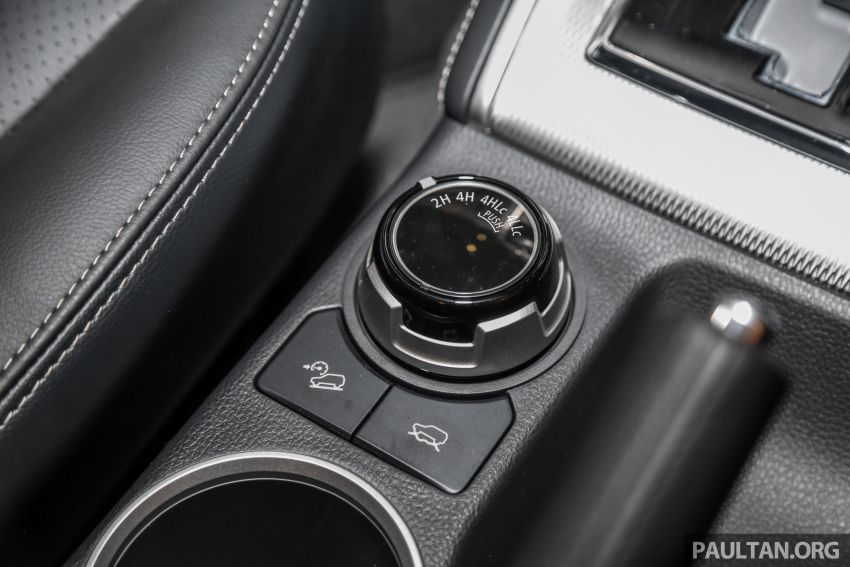 2019 Mitsubishi Triton in Adventure trim – Malaysian-spec interior revealed; Forward Collision Mitigation Image #900130