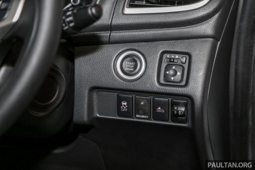 2019 Mitsubishi Triton in Adventure trim – Malaysian-spec interior revealed; Forward Collision Mitigation Image #900131
