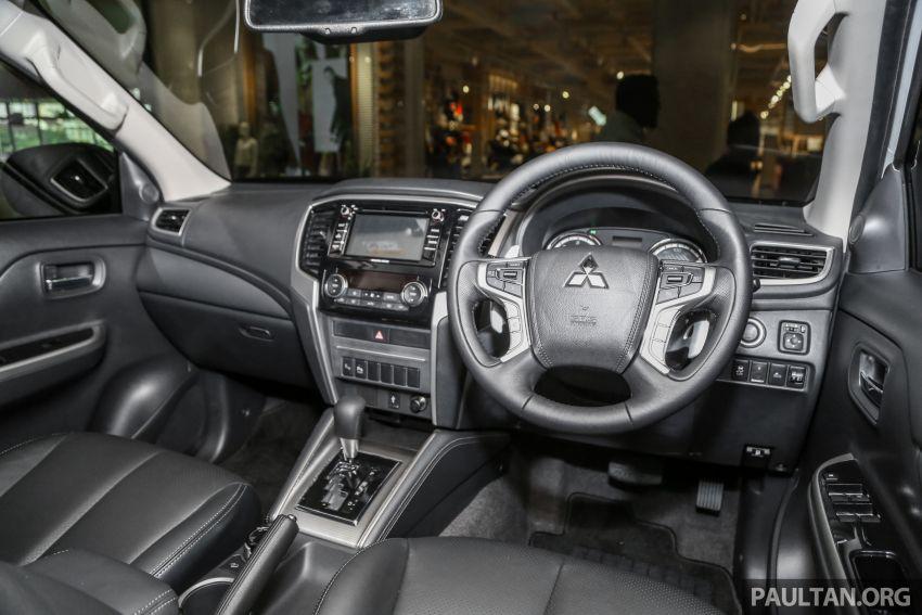 2019 Mitsubishi Triton in Adventure trim – Malaysian-spec interior revealed; Forward Collision Mitigation Image #900134