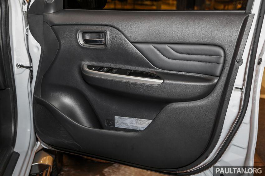 2019 Mitsubishi Triton in Adventure trim – Malaysian-spec interior revealed; Forward Collision Mitigation Image #900137