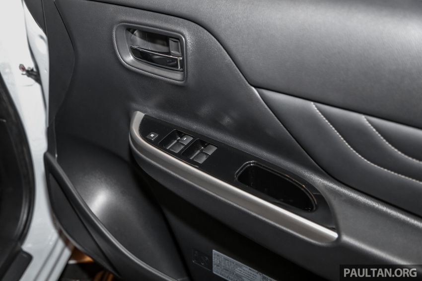 2019 Mitsubishi Triton in Adventure trim – Malaysian-spec interior revealed; Forward Collision Mitigation Image #900138