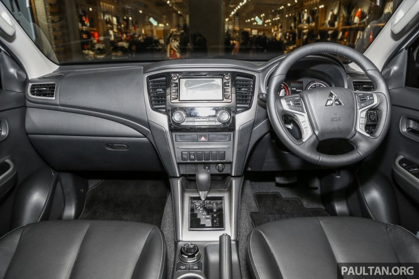 2019 Mitsubishi Triton in Adventure trim – Malaysian-spec interior revealed; Forward Collision Mitigation Image #900121