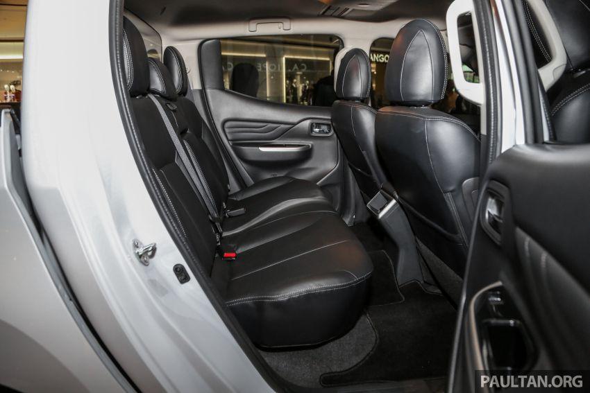2019 Mitsubishi Triton in Adventure trim – Malaysian-spec interior revealed; Forward Collision Mitigation Image #900144