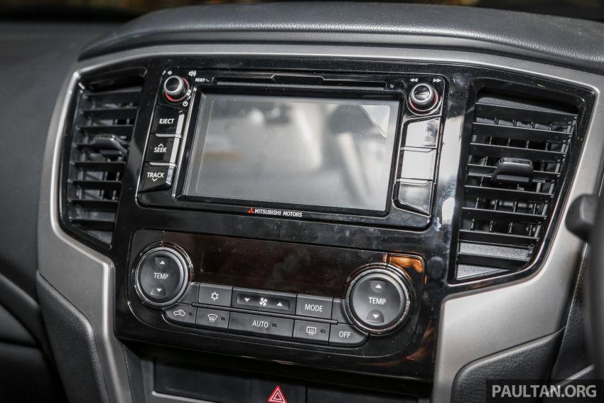 2019 Mitsubishi Triton in Adventure trim – Malaysian-spec interior revealed; Forward Collision Mitigation Image #900125