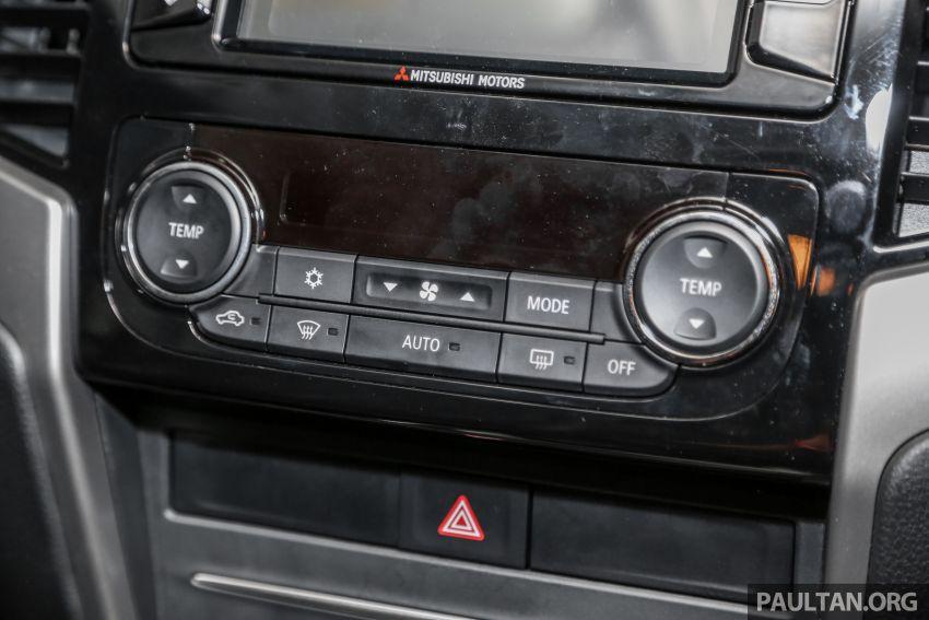 2019 Mitsubishi Triton in Adventure trim – Malaysian-spec interior revealed; Forward Collision Mitigation Image #900126