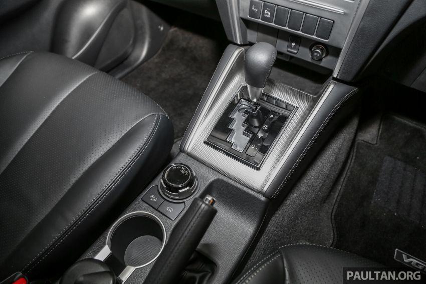 2019 Mitsubishi Triton in Adventure trim – Malaysian-spec interior revealed; Forward Collision Mitigation Image #900128