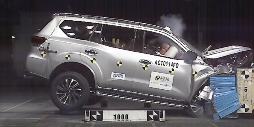 Nissan Terra gets a 5-star ASEAN NCAP safety rating Image #899310
